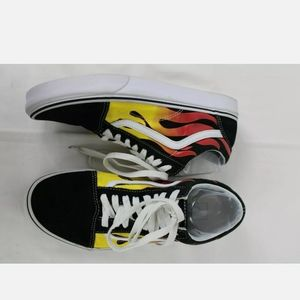 Old Skool Vans Flame. Mens 9 women's 10.5. Conditi